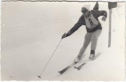 Skiing At Cortina D'Ampezzo In 1961 - Slalom Gigante, Foto Ghedina (Cortina) B180410 - Sport