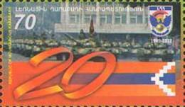 Armenia (Nagorno-Karabakh) 2012 Mih. 71 Armed Forces MNH ** - Armenia