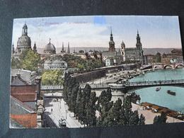 1922  BEAUTIFUL POSTALCARD OF DRESDEN...GO TO ROME..IN ITALY .//..BELLISSIMA CARTOLINA DI DRESDA...VIAGGIATA - Dresden