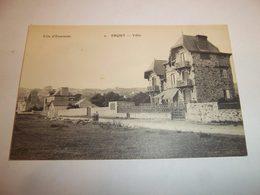 6bpt - CPA N°2 - ERQUY - Villas - [22] Côtes D'Armor  - - Erquy