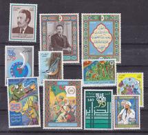 Algérie  696, 698 708  1979 Année Complète Poste Sauf 697  Neuf **TB  Mnh Cote 17.5 - Algerien (1962-...)
