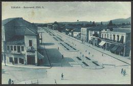 ALBANIA: Tirana - Bulevardi ZOG I - Albania