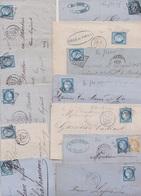 LOT De 50 Lettres Du N°60. - 1871-1875 Cérès