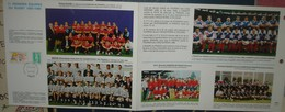 Finale Championnat France 1996 TOULOUSE - BRIVE.Encart Avec 11 Equipes De Rugby - Rugby