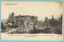 CPA 02 VERNEUIL COURTONNE Eglise - France