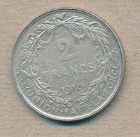 België/Belgique 2 Fr Albert1 1910 Fr Morin 283 (137886) - 1909-1934: Albert I