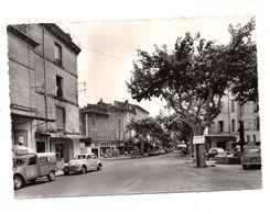 Uzès Boulevard Gambetta Place Albert 1er - Uzès