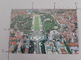 Lisboa - Portugal - Park Eduard VII And Libery Avenue - Non Viaggiata - (3433) - Lisboa
