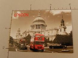 London - 611 - Non Viaggiata  - (3312) - St. Paul's Cathedral