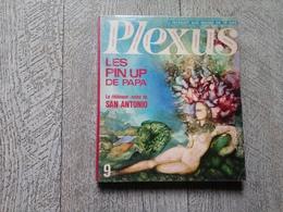 Revue Plexus N°9  1967 Débloque Note De San Antonio Pin Up Humour érotisme Pop Satirique  Art - Kunst
