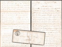 1846 - STENAY (55) - L.A.S. Adèle REMY à Mme Thomas REMY à CATEAU (59) - Documentos Históricos