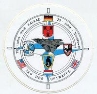 AUTOCOLLANT STICKER AUFKLEBER BUNDESWEHR LUFTWAFFE 3.LUFTWAFFEDIVISION KALKAR - Stickers