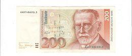 200 Mark 1989 Rosenberg 295a  Leicht Gebraucht - 200 Deutsche Mark