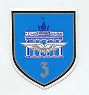 AUTOCOLLANT STICKER AUFKLEBER BUNDESWEHR LUFTWAFFE 3.LUFTWAFFEDIVISION - Stickers