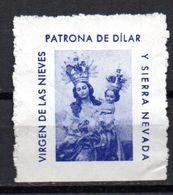 Viñeta Virgen De Las Nieves. - España