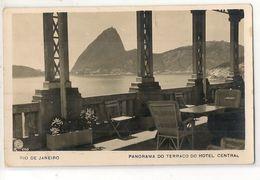 BRASIL - RIO DE JANEIRO - PANORAMA DO TERRACO DO HOTEL CENTRAL - 1930 Sent To BUENOS AIRES - São Paulo