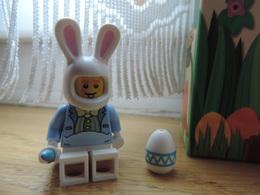 Figurine Oreille De Lapin + Œuf De Pâques Et Pinceau Lego Easter Brush + Egg And Rabbit - Figures