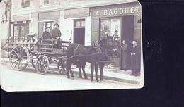 Castillon La Bataille ,attelage  Magasin Bagouet Et Singer - Autres Communes