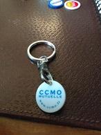 Vends  JETON DE CADDIES CCMO Mutuelles Et Porte Clefs - Trolley Token/Shopping Trolley Chip
