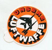 AUTOCOLLANT STICKER AUFKLEBER BUNDESWEHR UNSERE LUFTWAFFE - Stickers