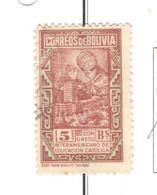 Bolivia PO 1948 Statua Di Cristo La Paz Scott.329++See Scans On Scott.Page - Bolivia