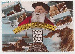 26517 La Pointe Du Raz  -nul Ne Passe -pecheur Blason Bretagne 10284 Ed Jean - Colorisée -1965 - La Pointe Du Raz