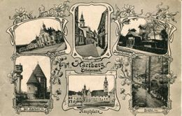 003304 Hartberg Mehrbildkarte 1925 - Hartberg