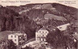 LONGEGA-MAREBBE-BOZEN-BOLZANO-ALBERGO E PENSIONE-ROB. MUTSCHIECHNER-ALBERGO GADER-VIAGGIATA IL 16-7-1937 - Bolzano