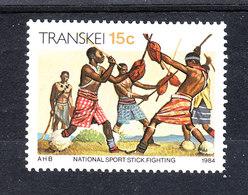 Transkei   -   1984.  Folklore: Lotta Con I Bastoni. Fight With Sticks.  MNH - Giochi
