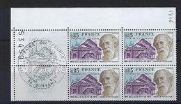 """FR Coins Datés FDC YT 1846 """" Théâtre De Bussang """" Neuf** Bussang Le 9.8.75 - Coins Datés"""