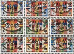 Ref. 36488 * NEW *  - LESOTHO . 1982. FOOTBALL WORLD CUP. SPAIN-82. COPA DEL MUNDO DE FUTBOL. ESPAÑA-82 - Lesotho (1966-...)