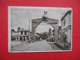 TASHKENT 1931 Arch, Entrance From The Old City To The New Town. Russian Postcard, Postmark OLD TASHKENT. - Uzbekistan