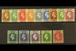 1921-26 Script CA Watermark Set, SG 69/83, Very Fine Mint (14 Stamps) For More Images, Please Visit Http://www.sandafayr - Cayman Islands
