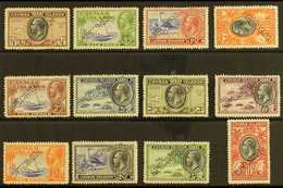 """1935 Pictorial Definitives Complete Set With """"SPECIMEN"""" Perfin, SG 96s/107s, ½d Value With Small Thin, Otherwise Fine Mi - Cayman Islands"""