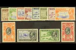 1935 Pictorials Set Complete, SG 96/107, Mint Lightly Hinged (12 Stamps) For More Images, Please Visit Http://www.sandaf - Cayman Islands