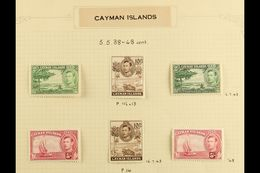 1937-79 VERY FINE MINT COLLECTION A Lovely Complete Collection For The Period Nicely Written Up On Album Pages, Includes - Cayman Islands