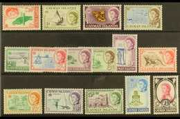 1962-64 Pictorial Definitive Set, SG 165/79, Never Hinged Mint (15 Stamps) For More Images, Please Visit Http://www.sand - Cayman Islands