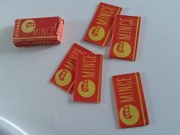 Boite Carton Avec 5 Lames De Rasoir Françaises GIBBS - Five Razor Blades GIBBS In A Cardboard Box - Razor Blades