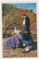 26525 Mallorca -pareja Tipica Parado Valldemosa - 1005 Casa Planas Palma - Folklore Mouton - Mallorca