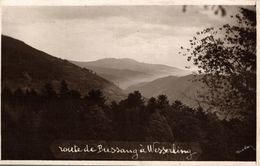 ROUTE DE BUSSANG A WESSERLING - Bussang