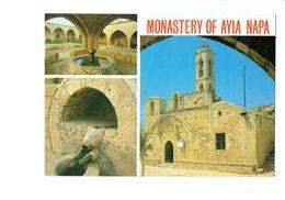 Cpsm - CYPRUS - Monastère De Ayia Napa - Fontaine Tête Ours ? - Chypre