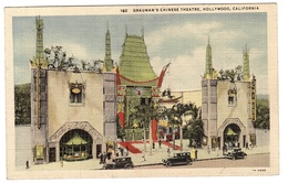 CHINESE THEATRE - LOS ANGELES - HOLLYWOOD - Grauman's Chinese Theatre, Hollywood, California - China