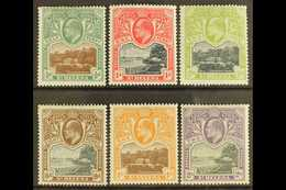 """1903 """"Government House And The Wharf"""" Complete Set, SG 55/60, Fine Mint. (6 Stamps) For More Images, Please Visit Http:/ - Saint Helena Island"""