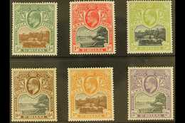 """1903 """"Government House And The Wharf"""" Complete KEVII Set, SG 55/60, Very Fine Mint. (6 Stamps) For More Images, Please V - Saint Helena Island"""