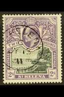 1903 2s Black & Violet, Wmk Crown CC, SG 60, Superb Used. For More Images, Please Visit Http://www.sandafayre.com/itemde - Saint Helena Island