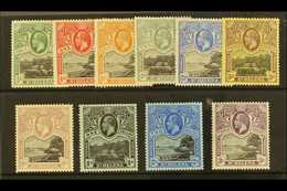 """1912-16 """"Government House And The Wharf"""" Complete KGV Set, SG 72/81, Fine Mint. (10 Stamps) For More Images, Please Visi - Saint Helena Island"""
