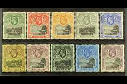 1912-16 Complete Set, SG 72/81, Very Fine Mint, Most Stamps Inc 2s & 3s Are Never Hinged, Very Fresh. (10 Stamps) For Mo - Saint Helena Island