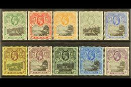1912-16 KGV Wmk Mult Crown CA Definitives Set, SG 72/81, Very Fine Mint (10). For More Images, Please Visit Http://www.s - Saint Helena Island