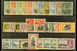 1912-35 KGV MINT SELECTION. An ALL DIFFERENT Mint Selection Presented On A Stock Card With Values To 2s6d. Includes 1912 - Saint Helena Island