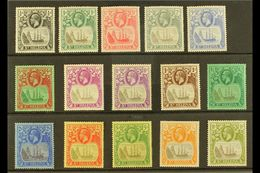 1922-37 Multi Script CA Watermark Set To 10s, SG 97/112, Mint (15 Stamps) For More Images, Please Visit Http://www.sanda - Saint Helena Island